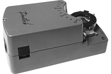 Электроприводы Dastech DA воздушных клапанов
