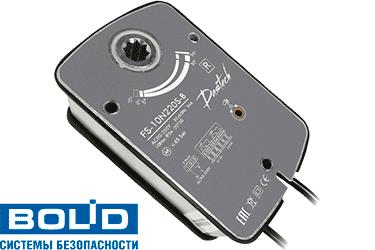 elektroprivod_dastech_FS_10N220S_B_Bolid_C2000_klapana_dimoudaleniya